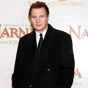 Liam Neeson provides the voice of Aslan the lion in the Narnia films