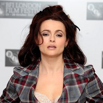 Helena Bonham Carter plays the Queen Mother in The King's Speech