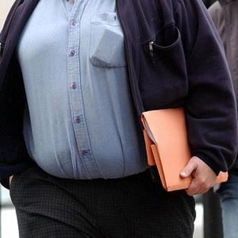 Losing weight topping the list of new year's resolutions, a survey suggests
