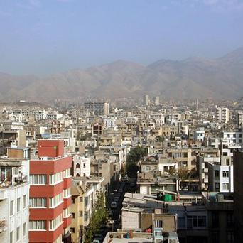Tehran, the capital city of Iran where a quarter of the population lives in rented apartments