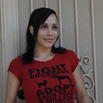 'Octomum' Nadya Suleman faces being evicted from her Californian home (AP)