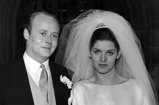 Benjamin Guinness, marries Miranda Smiley in 1963. Photo: Getty Images