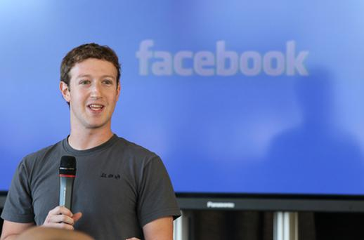Founder Mark Zuckerberg has been named Time magazine's 'Person of the Year'. He owns about a quarter of Facebook's shares, and is one of the world's youngest billionaires. Photo: Getty Images