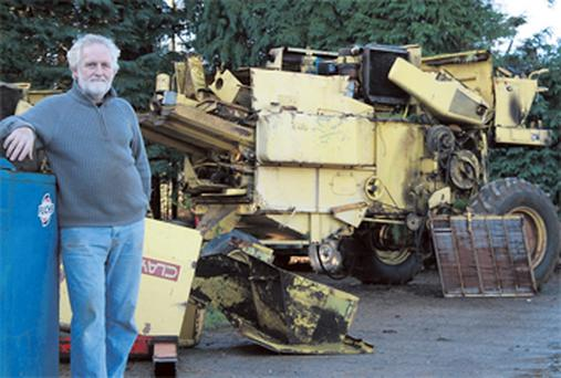 Bernard admits he sells the odd second-hand combine in Ireland, on top of several exported to Morocco and Pakistan, but they are now becoming expensive to buy over here
