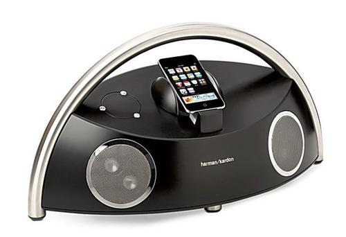 <b>1. Best when space is no object<br/> Harman Kardon Go + Play Micro: </b> It's big but it's portable (lift it by its stainless steel arch). It's simple to use: plonk an iPhone in, press play. As you'd expect from Harman Kardon, the audio is great: powerful bass and a wide sound. Deeply impressive. <br/>Around &euro;350 <br/>harmankardon.com