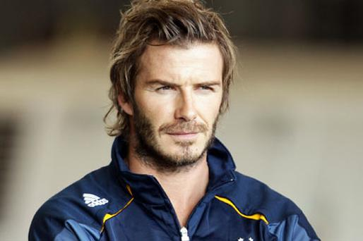 David Beckham is keen to return to Europe. Photo: Getty Images