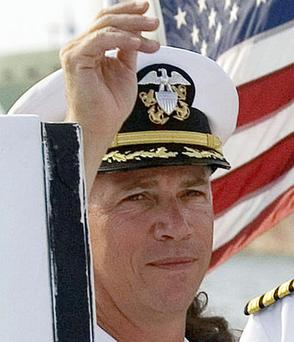 Captain Owen Honors: relieved of command. Photo: Reuters