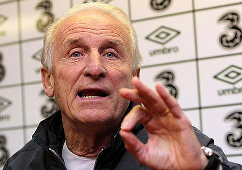 Giovanni Trapattoni. Photo: PA