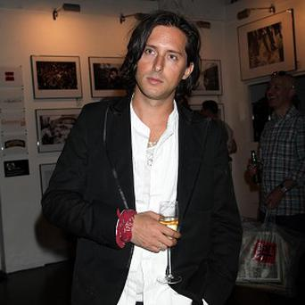 Carl Barat is a proud new dad