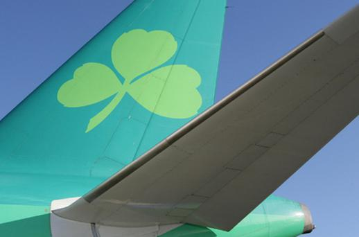 An improving financial position at Aer Lingus could prime the pump for a rapid sale of the Government's remaining 25pc stake in the carrier as part of its efforts to play down the burgeoning national debt. Photo: Getty Images
