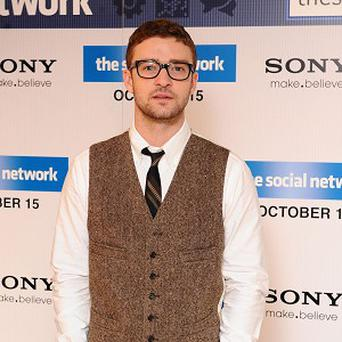 Justin Timberlake has denied the new track is his