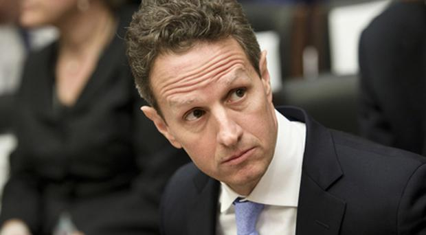 US Treasury Secretary Timothy F Geithner. Photo: Getty Images