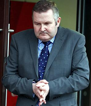 Former Northern Ireland Water Chief Executive Laurence MacKenzie who is a convicted embezzler. Photo: PA