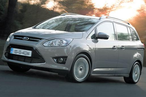 A GRAND DAY OUT: Ford's C-Max warns the driver if passengers are not wearing seat belts.