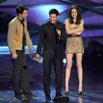 Robert Pattinson, Taylor Lautner and Kristen Stewart will be back on the big screen in Breaking Dawn