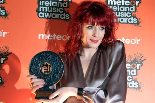Florence and The Machine at last years Meteor Awards. Photo: Collins Photo Agency