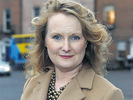 Fianna Fail councillor Mary Fitzpatrick in Dublin yesterday. Photo: Damien Eagers