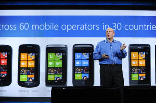 Microsoft's chief executive: Steve Ballmer. Photo: Getty Images