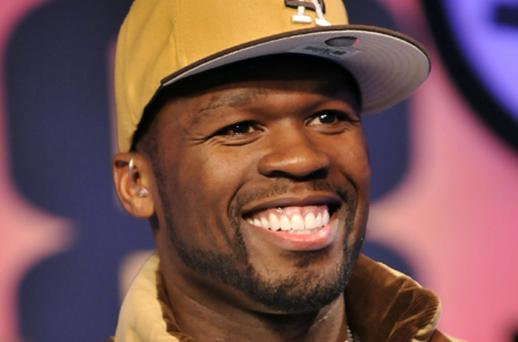 Rapper 50 Cent guaranteed his 3.8m followers 'big money' if they bought stock in H & H Imports. Photo: Getty Images