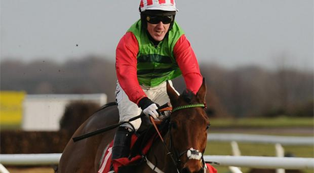 Tony McCoy rides Local Hero to victory as part of a Doncaster double yesterday