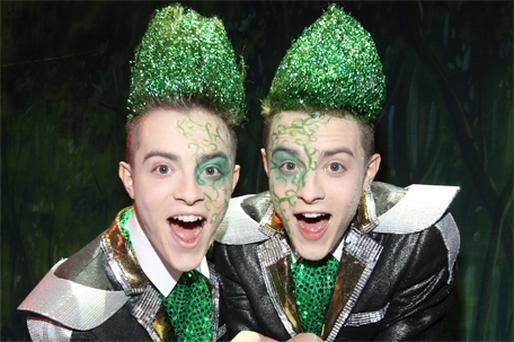 Jedward: will perform on the 'Late Late Show' next month