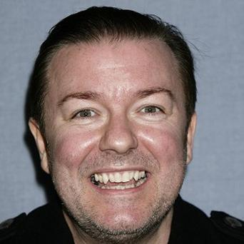 Ricky Gervais is the Golden Globes host for the second year in a row