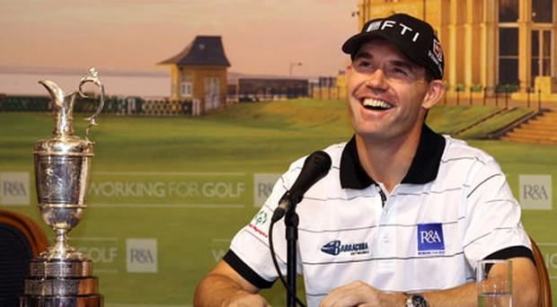 Padraig Harrington the new 'Working for Golf' ambassador for the sport's ruling Royal and Ancient Club. Photo: Getty Images