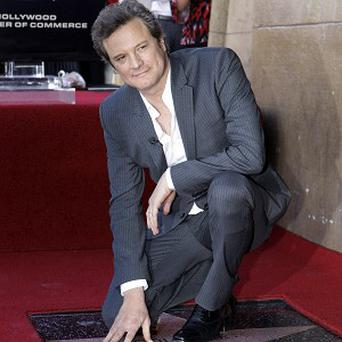 Colin Firth has a new star on the Hollywood Walk of Fame