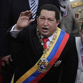Venezuela's president Hugo Chavez pulled he soap opera Chepe Fortuna from the airwaves (AP)