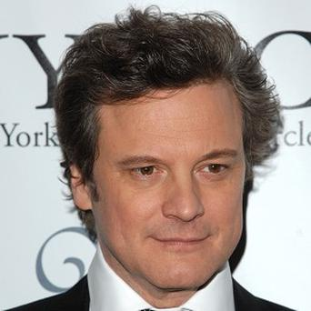 Colin Firth is dealing with his Golden Globes' nerves by not thinking about the big awards night