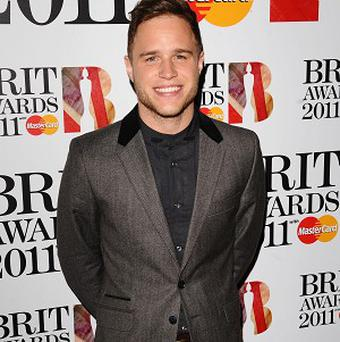Olly Murs is made up to be nominated for a Brit