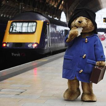 Marmalade lover Paddington Bear speading the word on the benefits of starting each day with a healthy breakfast