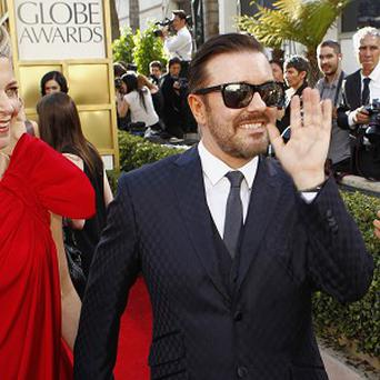 Ricky Gervais pulled no punches as he opened the Golden Globes