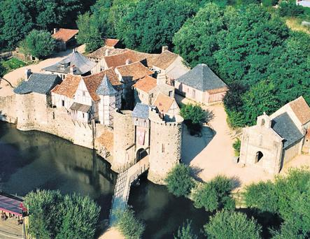 ADVENTURE: The medieval castle at the Grand Parc du Puy du Fou is great for the kids