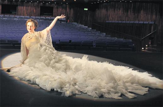 Maria Carley from Wexford at the launch of the 60th Wexford Festival Opera yesterday
