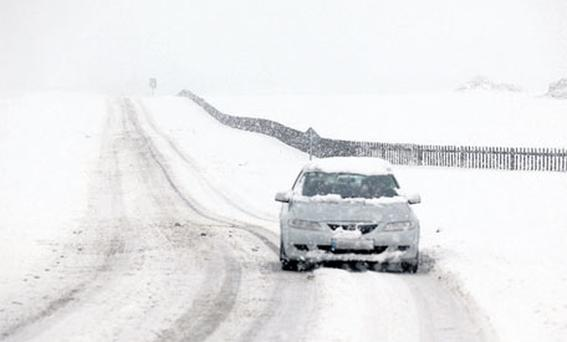 DANGEROUS CONDITIONS: Winter tyres can make a difference when driving in snow and ice