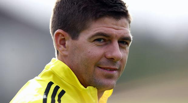 Steven Gerrard hopes to play for the next five years. Photo: Getty Images