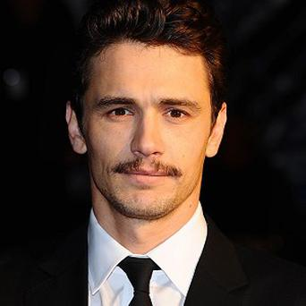James Franco will co-host the Oscars with Anne Hathaway
