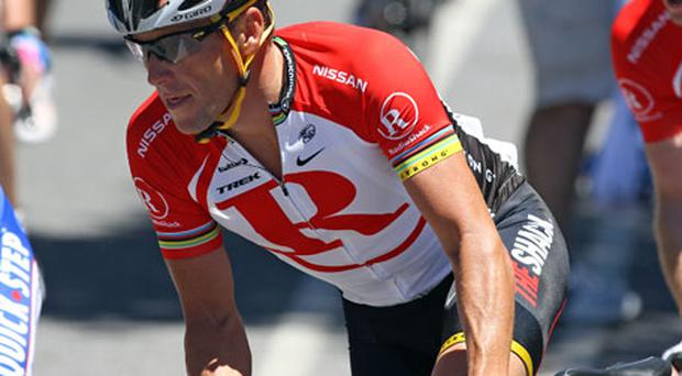 Lance Armstrong is currently competing in the Tour Down Under. Photo: Getty Images