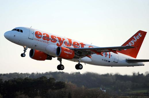 Easyjet is suffering the effects of an oil price bubble and December's snow and ice. Photo: PA