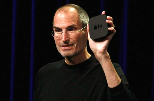 Steve Jobs once called Apple TV a hobby, however the small box to connect any TV to the web has recently returned to the limelight. Photo: Getty Images