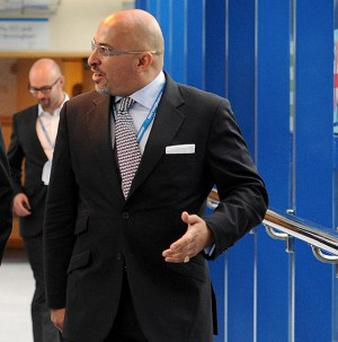 Tory MP Nadhim Zahawi has apologised after his musical tie went off in the Commons chamber