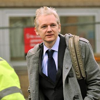 Julian Assange's story is set to be told in a new film