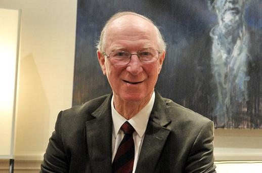 Jack Charlton pictured at the Irish Independent Sportstar of the Year Luncheon where he was inducted into the Hall of Fame. Photo: Sportsfile