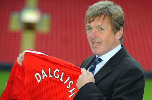 Kenny Dalglish: loving every minute of being back in charge of Liverpool's fortunes. Photo: Reuters