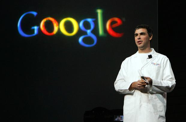 Larry Page will take over at Google on April 4. Photo: Getty Images