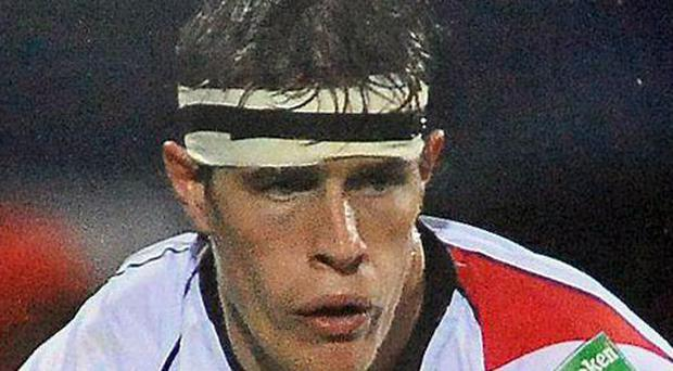 Injury blow: Andrew Trimble