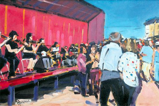 The picture is part of sale of Irish works by de Vere Art Auctions at the D4 Hotel, Dublin, on March 30