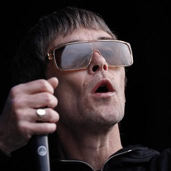 Ian Brown, former lead singer of The Stone Roses