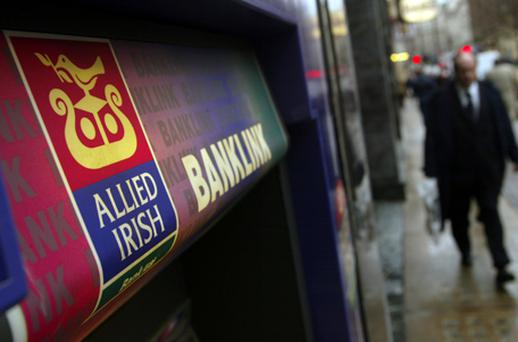 AIB, for its part, raised precious capital from a debt buyback, but the share will soon leave the main exchange as the capital call imposed on the bank becomes too large. Photo: Getty Images